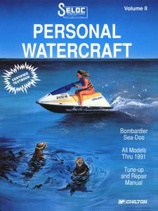 Sea-Doo/Bombardier Repair Manual 1988 - 1991 by Seloc