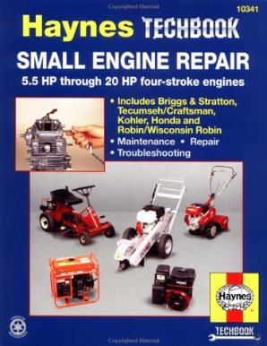 Small Engine Repair Manual, 5.5 - 20 Horsepower, Haynes Techbook