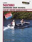 1985 - 1991 Suzuki 2-225 HP Outboards & Jet Drives Clymer Repair Manual