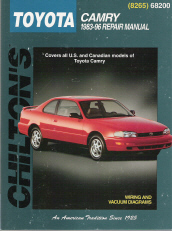 1983 - 1996 Toyota Camry, Chilton's Total Car Care Manual