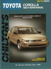 1988 - 1997 Toyota Corolla, Chilton's Total Car Care Manual