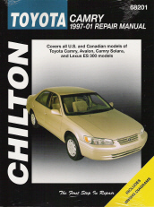 1997 - 2001 Toyota Camry, Avalon, Camry Solara, Lexus ES 300, Chilton's Total Car Care Manual