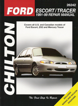 1991 - 2002 Ford Escort & Mercury Tracer Chilton's Total Car Care Manual
