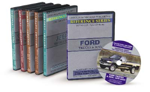1945 - 1999 Chilton All Domestic & Import Trucks, Vans & SUVs: CD-ROM Set: (Access to All Vehicles)