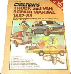 1982 - 1988 Chilton's Truck & Van Repair Manual