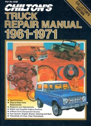 1961 - 1971 Chilton's Truck & Van Repair Manual
