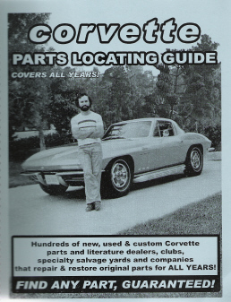 Chevrolet Corvette Parts Locating Guide - All Years