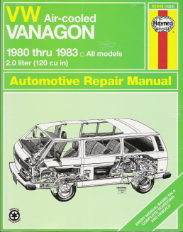 1980 - 1983 VW Air-Cooled Vanagon Haynes Repair Manual