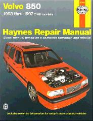 1993 - 1997 Volvo 850, Haynes Repair Manual