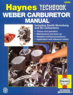 Weber, Zenith Stromberg & SU Carburetor, Haynes Tech Series Manual