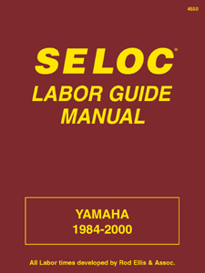 1984 - 2000 Yamaha Outboard Labor Guide