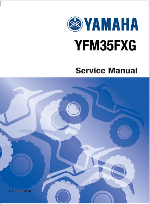 1995 - 2004 Yamaha YFM350 Wolverine 4x4 ATV Factory Service Manual CD-ROM