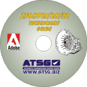 BMW / AUDI ZF6HP21 /  ZF6HP28 /  ZF6HP32 2nd Generation Technicians Guide Mini CD