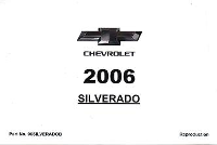 2006 Chevrolet Silverado Owner's Manual