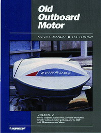 1957 - 1969 30 HP & Above Old Outboard Motor Clymer Repair Manual