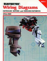 1956 - 1989 Outboard Motors & Inboard / Outdrives Clymer Wiring Diagrams Manual