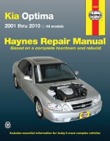 2001 - 2010 Kia Optima Haynes Repair Manual