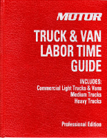 2016 MOTOR Light, Medium & Heavy Duty Trucks Labor Time Guide