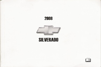 2008 Chevrolet Silverado Owner's Manual Portfolio