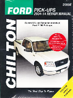 2004 - 2014 Ford F150, Chilton's Total Care Care Manual