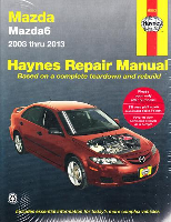 2003 - 2013 Mazda Mazda6 Haynes Repair Manual