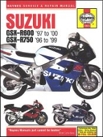1996 - 1999 Suzuki GSXR600 1997-2000, GSXR750  Haynes Repair Manual