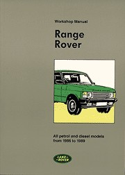 1986 - 1989 Range Rover Factory Repair & Operation Manual