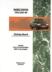1995 - 2001 Range Rover Factory Repair & Operation Manual - All Models