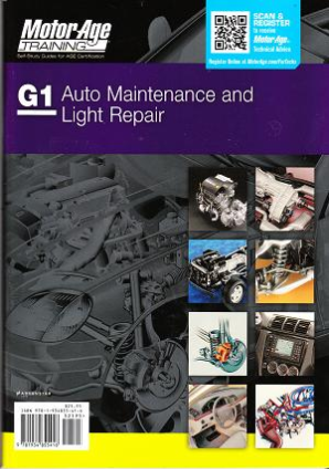ASE Test Prep Manual -- Automobile G1, Automotive Maintenance and Light Repair by MotorAge