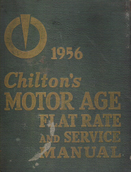 1946 - 1956 Chilton's Flat Rate Manual