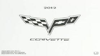 2012 Chevrolet Corvette / Corvette Z06 Factory Owner's Manual