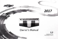 2017 Chevrolet Camaro Owner's Manual