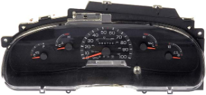 1996 Ford F150 F250 Instrument Cluster Repair Gas Only, w/o Tach
