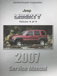 2007 Jeep Liberty (KJ) Service Manual - 4 Volume Set