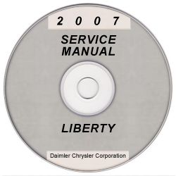 2007 Jeep Liberty (KJ) Service Manual on CD *XML & SVG*
