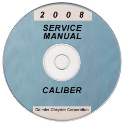 2008 Dodge Caliber (PM) Service Manual ON CD