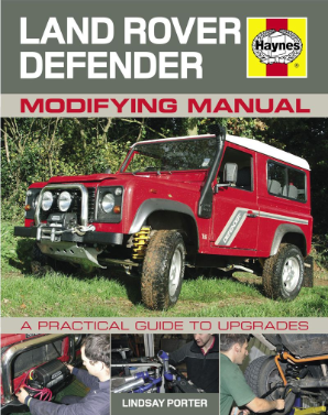 1990 - 2012 Land Rover Defender Modifying Manual by Haynes