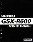 1997 - 2000 Suzuki GSX-R600 Factory Service Manual