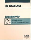 1996 - 1998 Suzuki Swift Factory Wiring Diagrams Manual
