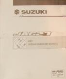 2001 Suzuki JA627 (XL-7) Factory Wiring Diagrams Manual