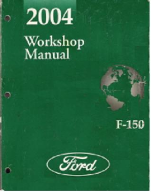 2004 Ford F150 Factory Service Manual