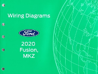 2020 Ford Fusion & Lincoln MKZ Factory Wiring Diagrams