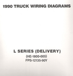 1990 Ford Medium/Heavy Truck L-Series Wiring Diagrams (Delivery Configuration)
