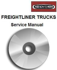 Freightliner Truck Factory Service Manual on CD-ROM