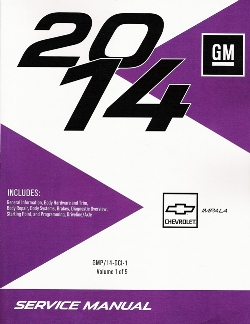2014 Chevrolet Impala Factory Service Manual - 5 Volume set