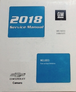 2018 Chevrolet Camaro Factory Service Repair Workshop Shop Manual 6-Vol. Set