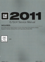 2011 Cadillac SRX Factory Service Manual