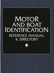 1921 - 1996 Motor and Boat Identification Reference Manual