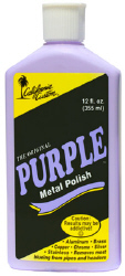 California Custom Original Purple Metal Polish