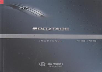 2007 Kia Sportage Factory Owner's Manual